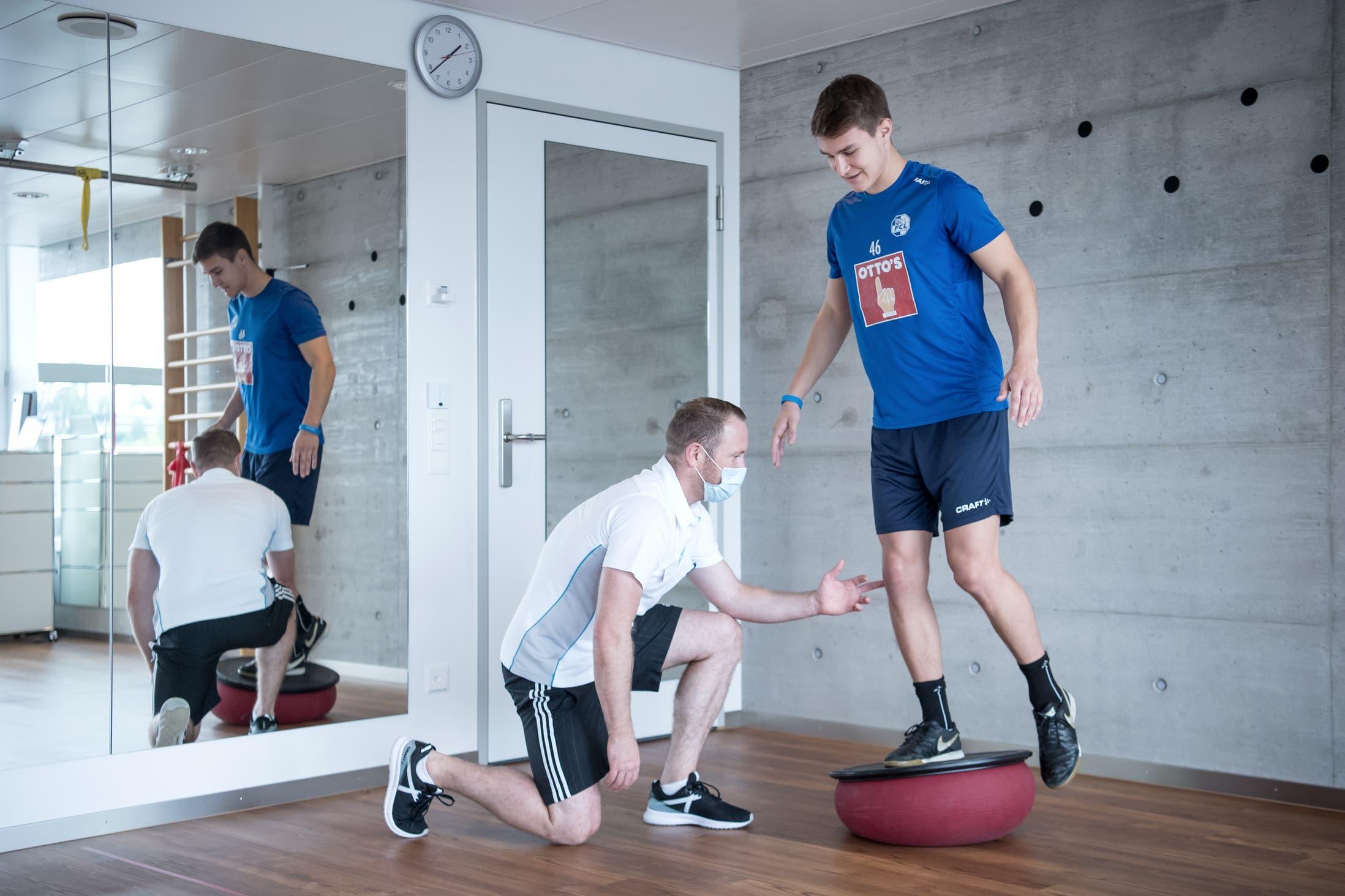 «Laufen ohne Krücken, ein super Gefühl» - Einblick in die